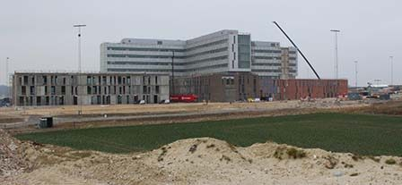 Nyt Aalborg Universitetshospital (NAU) Byggeplads